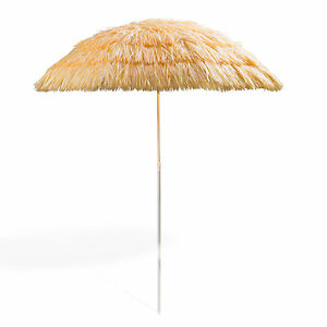 Sonnenschirm/Strohschirm/Balkonschirm/Hawaii/Gartenschirm/Bastschirm nat. 918588