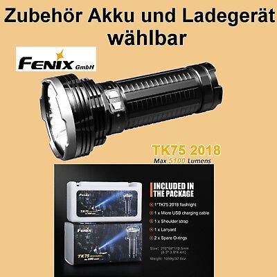 Fenix TK75 (2018) Cree XHP35 HI LED's Taschenlampe aufladbar 5100 Lumen 850 m online kaufen