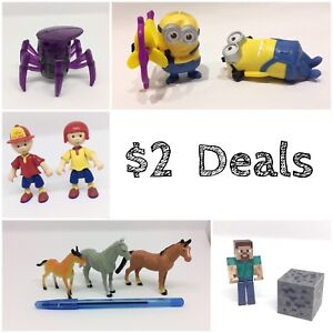 $2 DEALS | Assorted sets of toys for $2 - Swipe through pics