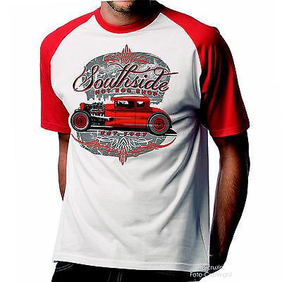 Hot Rod Garage (* T-Shirt Rockabilly Hot Rod Kustom Speed Garage Shop Oldschool Auto *1283)