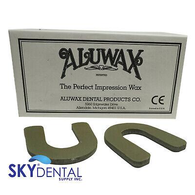 Dental Aluwax Denture U-shaped Bite Wafers 40box Impression Wax
