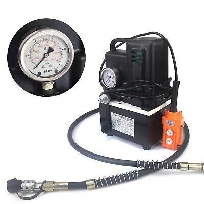 3l Heavy Duty Hydraulic Pump Portable Hydraulic Oil Pump Electric 1.2kw 1700rpm