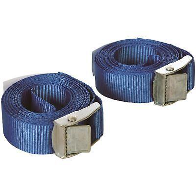 Silverline 449682 2-teilig mit Schnallen Riemen Set 2.5mx25mm Dachgepäckträger (Dachgepäckträger Riemen)