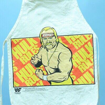Hulk Hogan - 1990 Kids Apron Smock Vintage Wrestling Rare WWF WWE - Rare