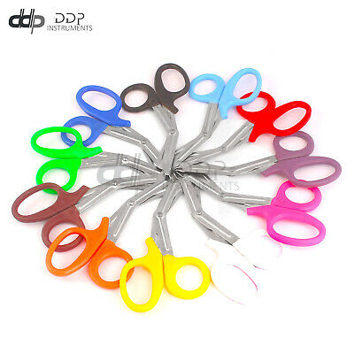 Mix Color Emt Shear Scissors Bandage Paramedic Trauma Medical Nurse 7.5 S.steel
