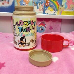 1980s Looney Tunes Lovables Thermos by Alladin