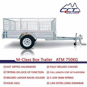 MARCH SPECIAL PACKAGE Solid Axle 8x5 ATM750KG Box Trailer Rocklea Brisbane South West Preview