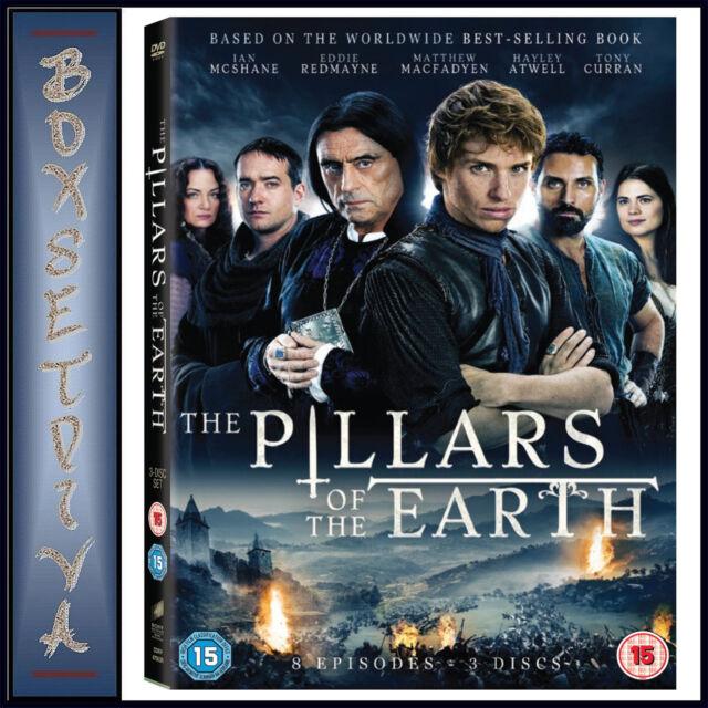 THE PILLARS OF THE EARTH - MINI SERIES *BRAND NEW DVD*