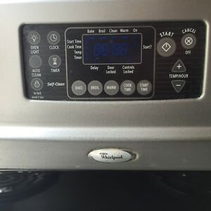 Whirlpool stove mint condition