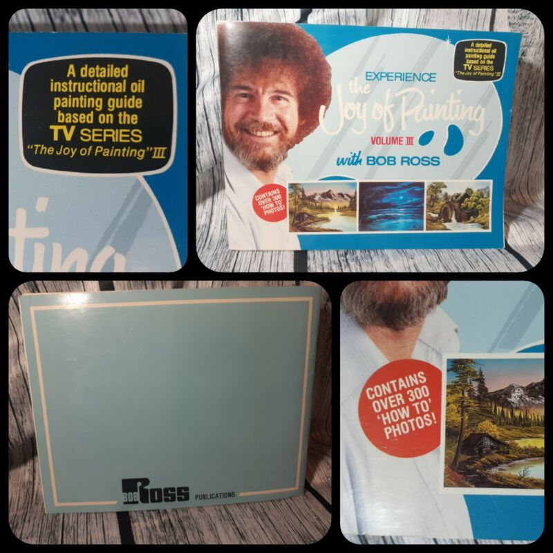 Experience The Joy of Painting with BOB ROSS Volume 3 (III) Instruction Book