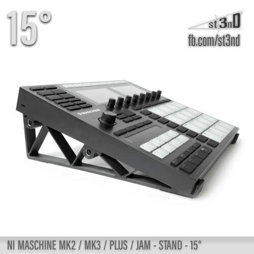 NI MASCHINE  MK3 / PLUS / MK2 / JAM - STAND - 15 degrees - 3D Printed
