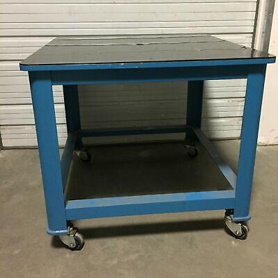 48 X 48 Inter-lakes Steel Mfg Machine Base Welding Cnc Table Workstation Bench