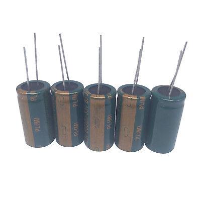 Us Stock 5pcs Electrolytic Capacitors 6800uf 35v 105 Radial 18 X 36mm
