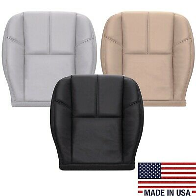 Leather Seat Black Leather - 2007 TO 2013 Chevy Avalanche Bottom Leather Seat Covers Black Tan Gray Variation