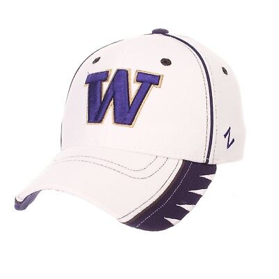 White Washington Hat - WASHINGTON HUSKIES UW ZEPHYR WHITE VIPER FLEX FIT FITTED HAT/CAP XL NEW