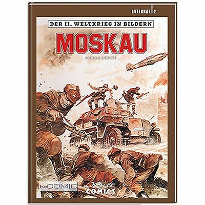 Der 2.Weltkrieg in Bildern Integral 2 Moskau COMIC Pierre Dupuis HISTORY NEU