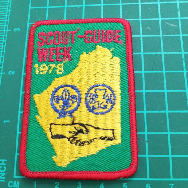 Scouts -Guide Week 1978 Western  Australia Badge Patch