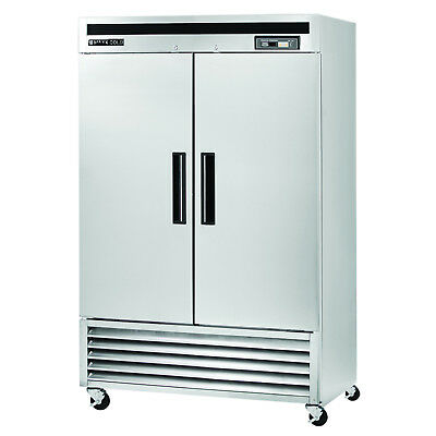 Maxx Cold Commercial Double 2 Door Sub Zero Upright Reach-in Frost Free Freezer