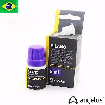 Dental Silane 5ml Adhesion Promoter For Ceramics And Glass Fiber Silano Angelus