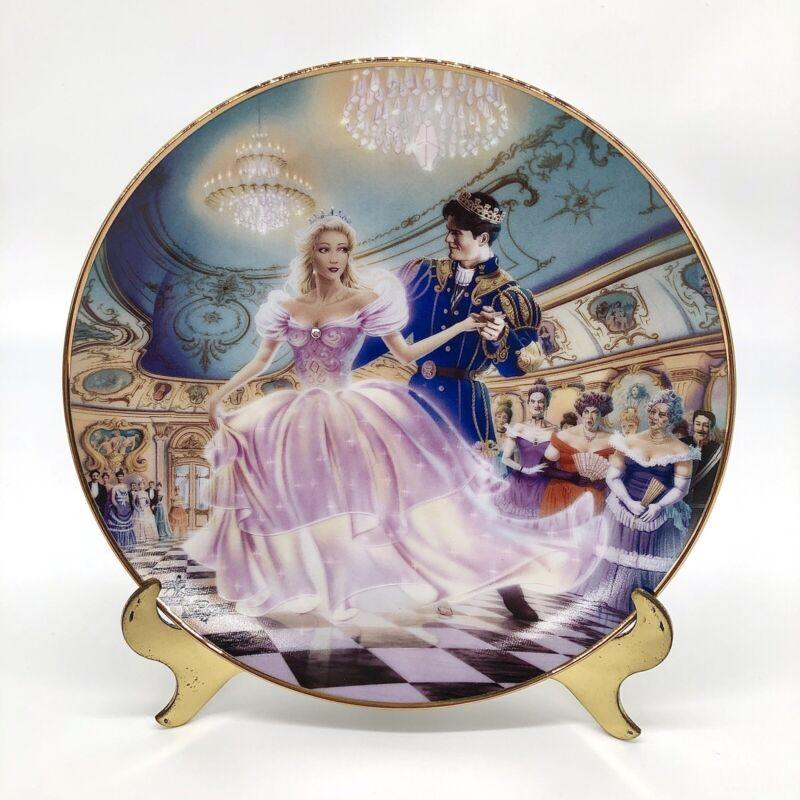 "The First Dance by Steve Read ""Cinderella"" Porcelain Plate 8"" Franklin Heirloom"