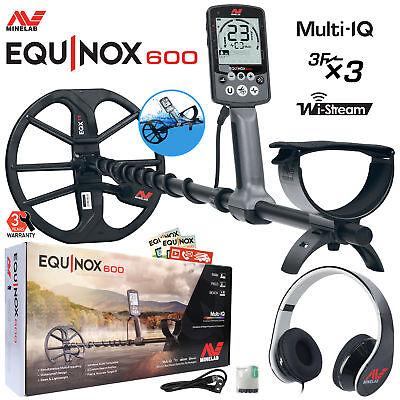 Minelab EQUINOX 600 Multi-IQ Underwater Metal Detector & EQX 11