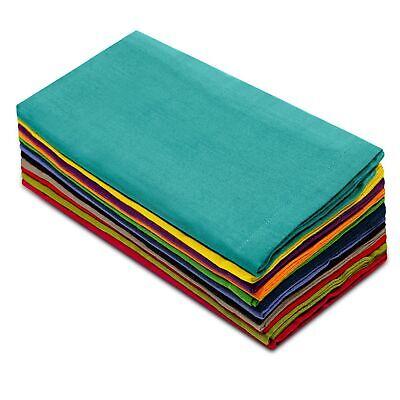 Cotton Craft Dinner Napkins Set Napkin 12 Pack 20x20 Cloth F