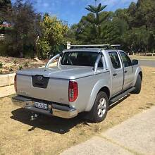 Nissan Navara D40 Hard Cover and Sports Bar Ocean Reef Joondalup Area Preview