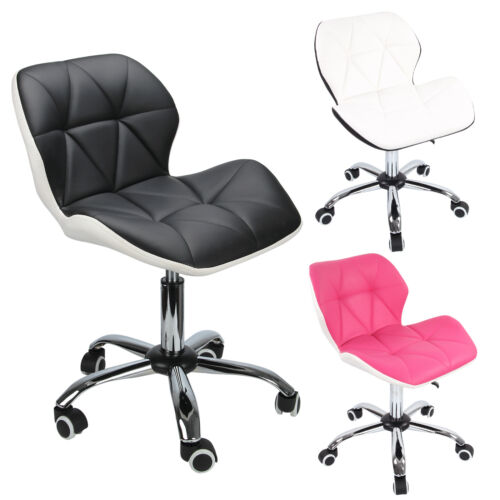 Sedia sedie da ufficio per scrivania girevole con ruote for Sedie per scrivania amazon