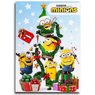Minions Motif D Chocolate Advent Calendar Whole Milk Christmas