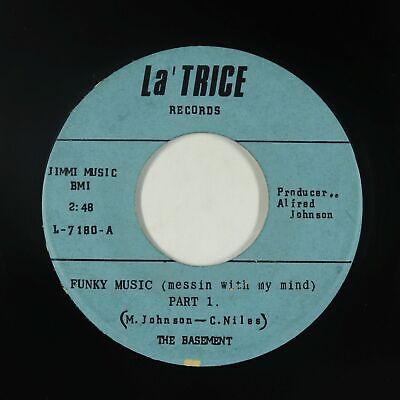 Funk Psych 45 - The Basement - Funky Music - La' Trice - VG+ mp3 - rare!