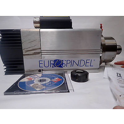 Eurospindel High Speed Spindle Cnc Router Motor Ghe-er 32 New 3.8 Kw 18k Rpm