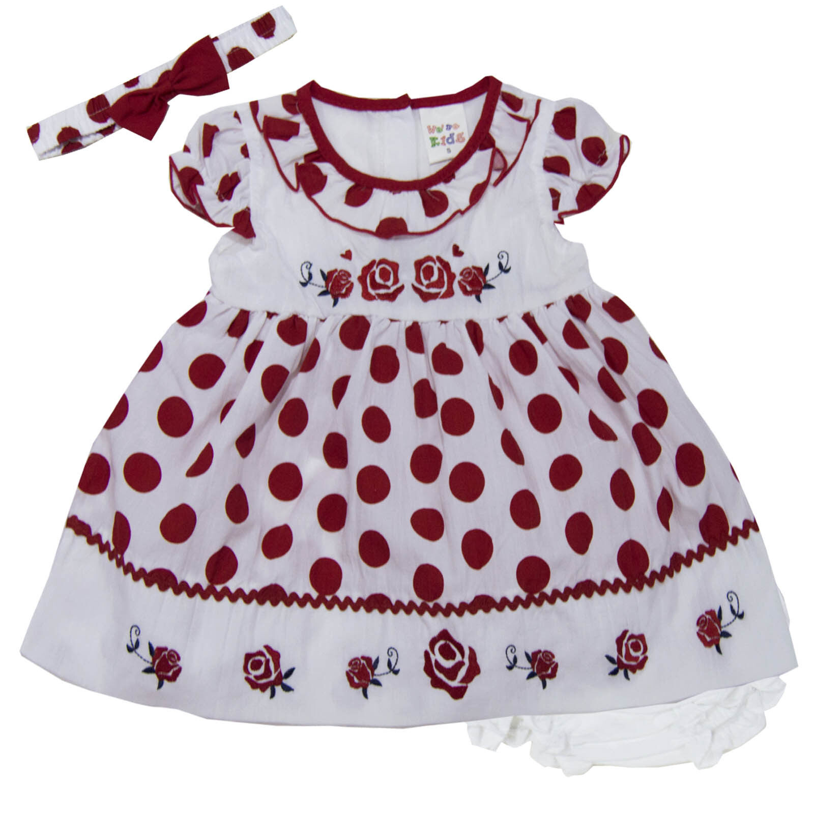 a8ab696af new newborn infant baby girl dress 3 piece set outfit size 3 6 9 12 ...