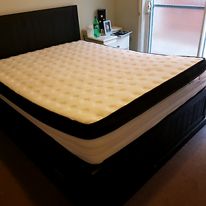 Bed and mattress sale (almost new) Braybrook Maribyrnong Area Preview