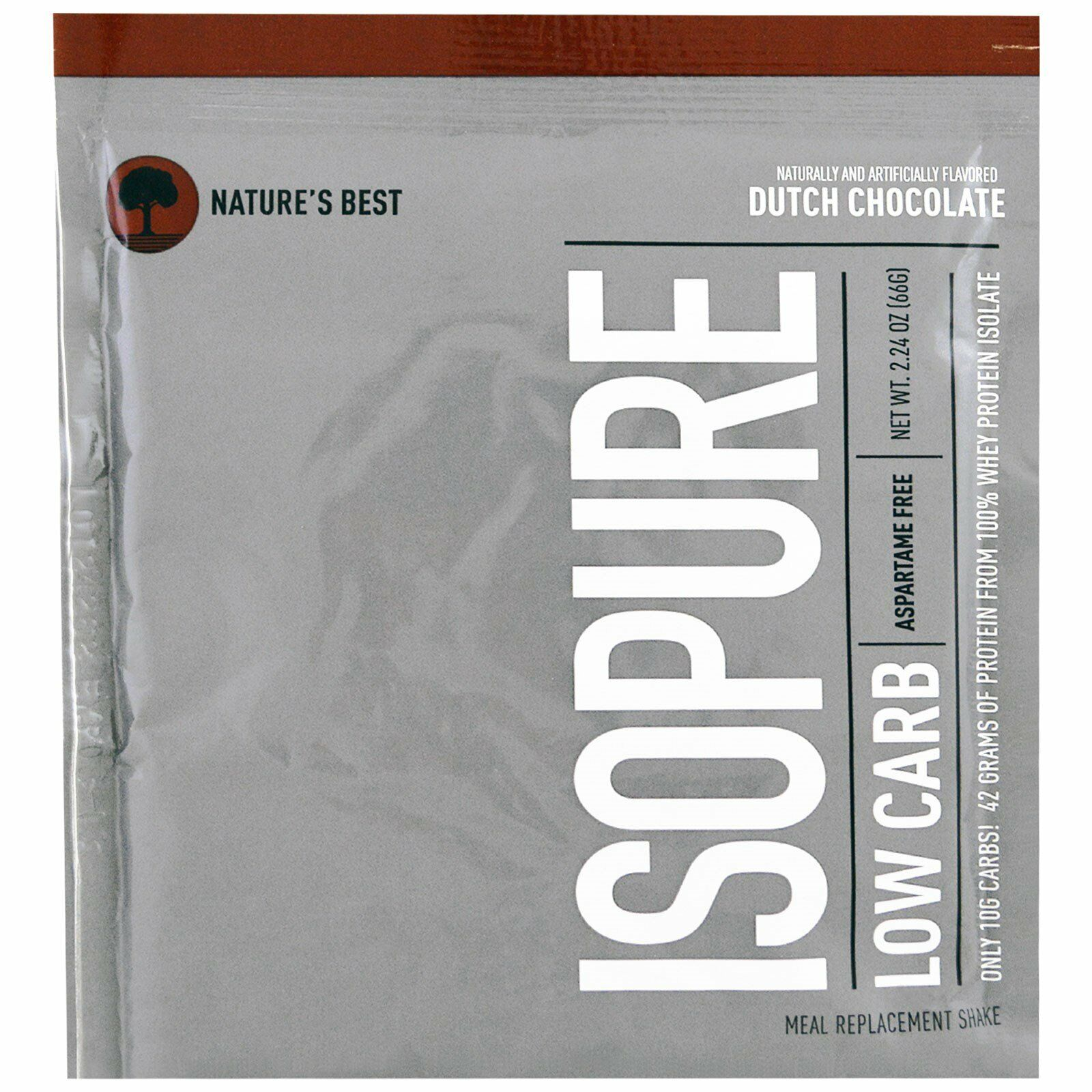 Isopure Zero/Low Carb Isopure 50 Grams Of Protein From 100%