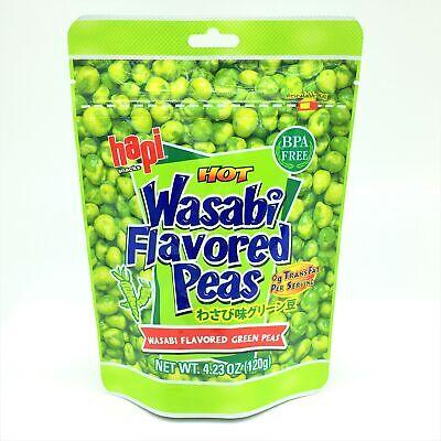 Hapi Wasabi Green Peas , 0g Trans Fat 120g