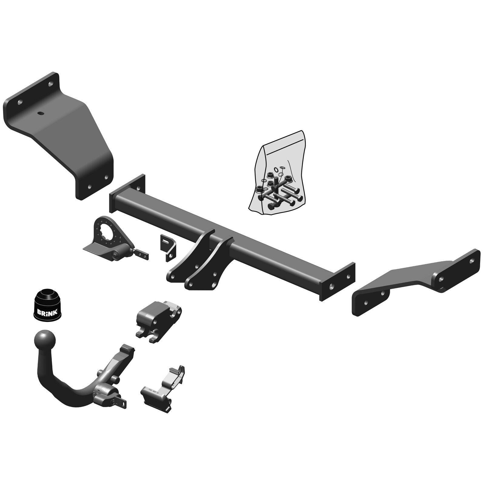 Brink Towbar for Hyundai i30 Estate 2012-2017 Detachable Tow Bar