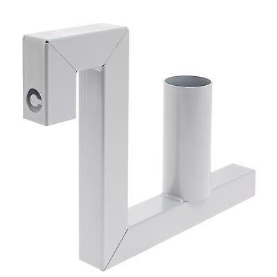 Abroller Montage von PVC Sichtschutz Sichtschutzrollen für Doppelstabmattenzaun
