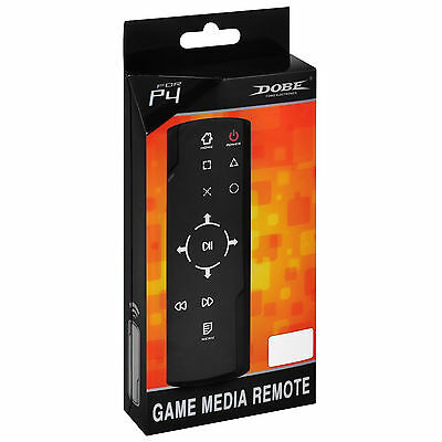 Dobe Game Media Blu-ray DVD Remote Control for Playstation 4 PS4 Black