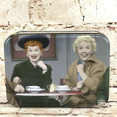 I Love Lucy Friends Forever Lucy   Ethel Collectible Keepsake Tin Box Vandor