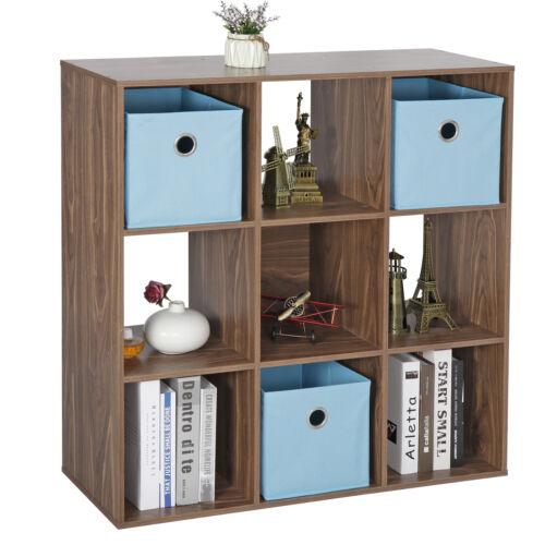 9-Cube Closet Organizer Storage Shelves Save Space Home Study Bookshelves Closet Organizers