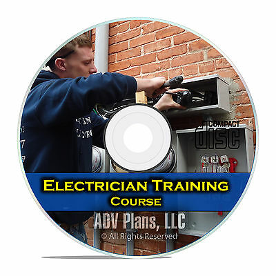Electrician Journeyman Training Course Class, Learn Electrical Circuits DVD E52