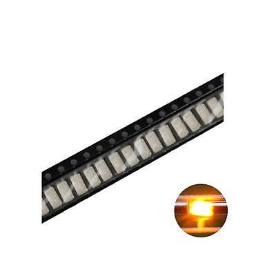 500pcs 5730 Smd Led Diode Lights Yellow Super Bright Lighting Bulb