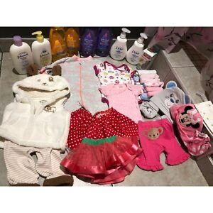 9fb245d0bd9 Brand new baby girl stuff