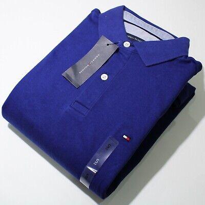 Men's Tommy Hilfiger Short Sleeve Dark Blue Polo Shirt | NWT