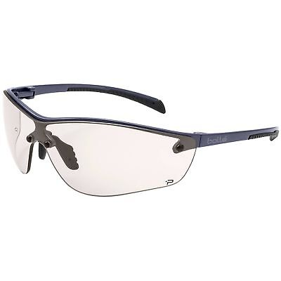 Bolle Silium Safety Glasses With Clear Csp Anti-fog Lens Gunmetal Frame