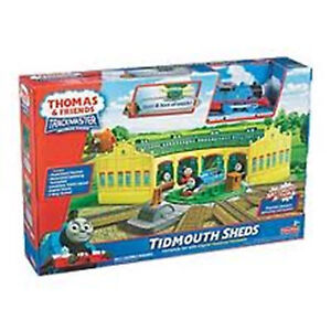 FISHER-PRICE-TRACKMASTER-THOMAS-FRIENDS-TIDMOUTH-SHEDS-SET