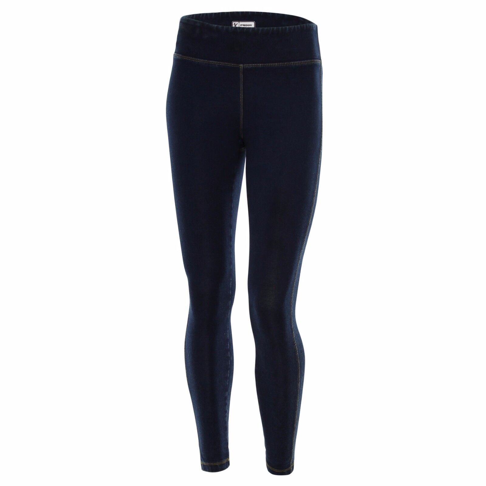 SCONTO 30% FREDDY LEGGINGS SUPERFIT 7/8 IN DENIM WSFIT1L05B04 PANTALONI XS S M L