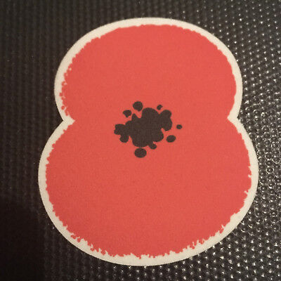 Poppy Iron On Football Shirt Patch Badge Remembrance English Soccer Transfer