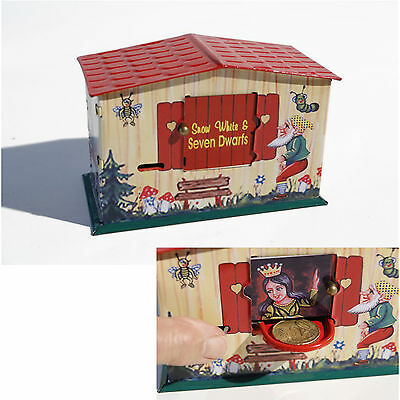 😊 Blechspielzeug - Nostalgie Spardose Snow White Bank