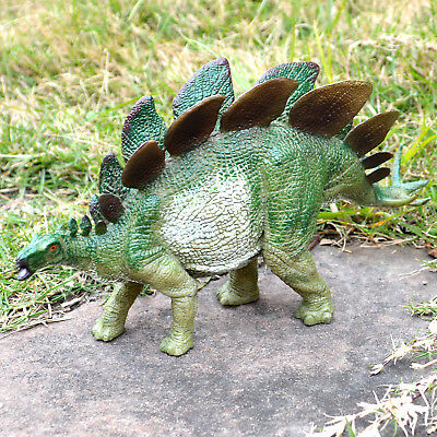 8 Stegosaurus Dinosaur Figure Educational Toy Collectible Birthday Gift Kids